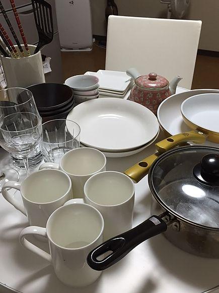 最大8名でご利用いただけます。食器類、調理器具をご利用の際はお申し付けください。無料です。
